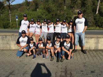 Piranhas na Mistrovství ČR v coachballu U11 v Kostelci