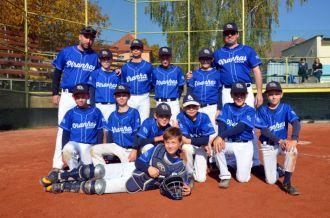 Podzimní baseballové zápasy ve Středočeském přeboru